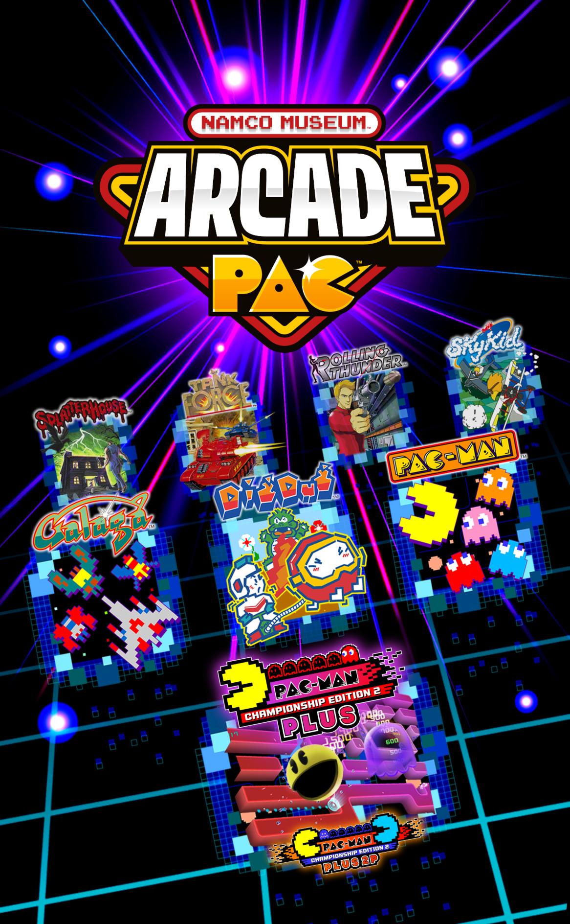 Namco Museum Arcade Pac Switch coverHQB2 (AP3MA)
