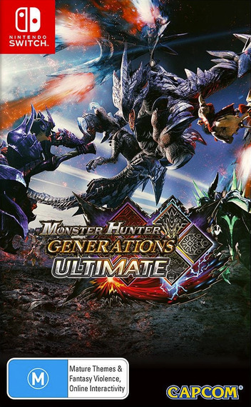 Monster Hunter - Generations - Ultimate Switch coverM (AAB7B)