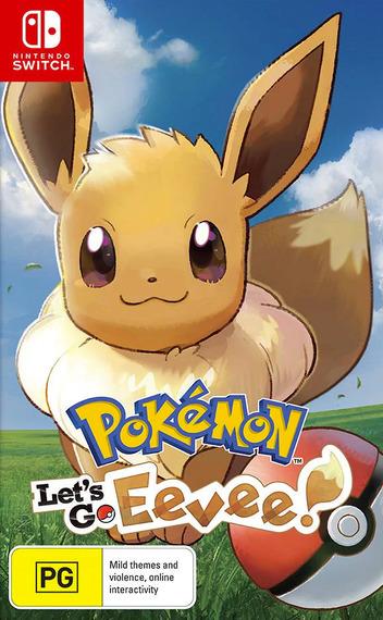 Pokémon: Let's Go, Eevee! Switch coverM (ADW3A)
