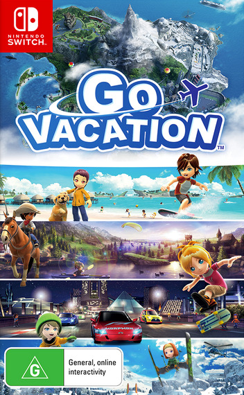 Go Vacation Switch coverM (AF2GB)