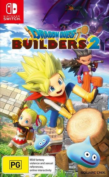 Dragon Quest Builders 2 - Hakaishin Sidoh to Karappo no Shima Switch coverM (AH97B)