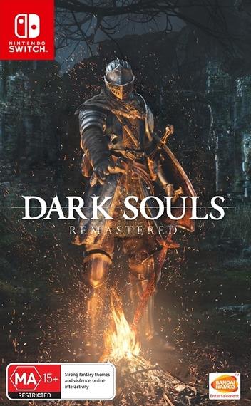 Dark Souls - Remastered Switch coverM (AK63B)