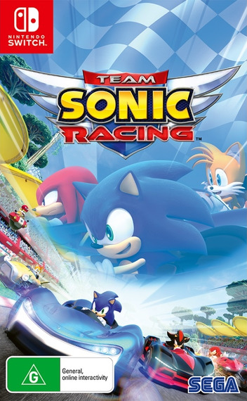 Team Sonic Racing Switch coverM (AMKCB)