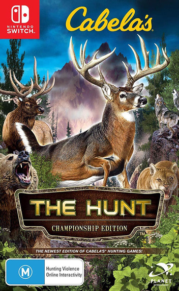 Cabela's - The Hunt - Championship Edition Switch coverM (AMU4B)