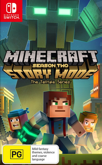 Minecraft - Story Mode - Season Two Switch coverM (APFZA)