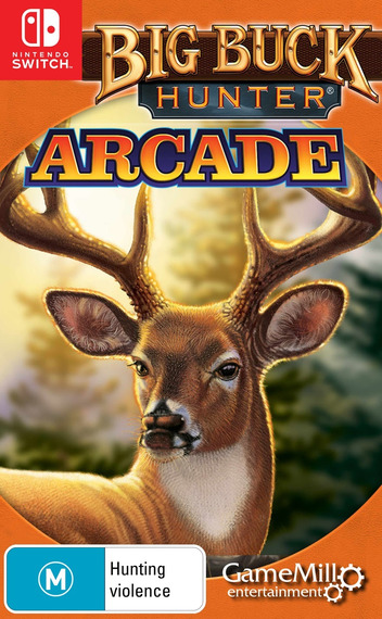 Big Buck Hunter Arcade Switch coverM (APJYB)