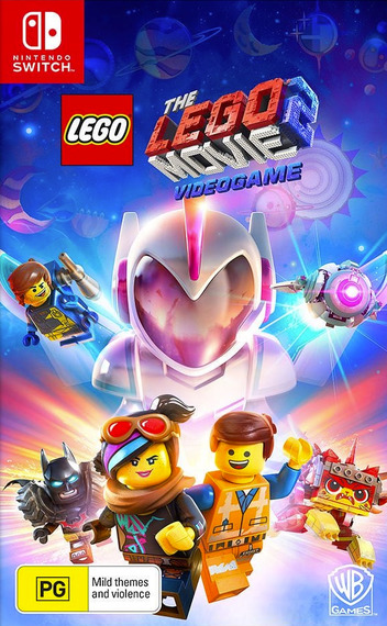 The LEGO Movie 2 Videogame Switch coverM (AREHA)