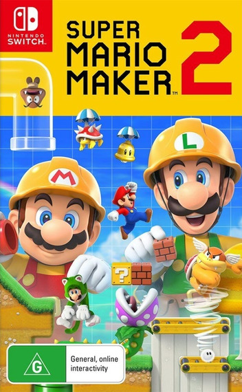 Super Mario Maker 2 Switch coverM (BAAQA)