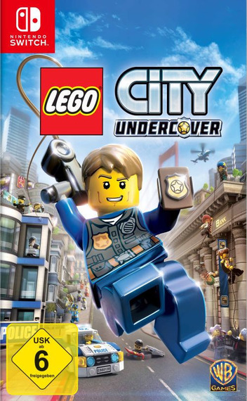 LEGO City Undercover Switch coverM (ABM2B)