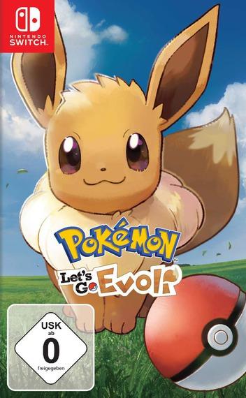 Pokémon: Let's Go, Evoli! Switch coverM (ADW3A)