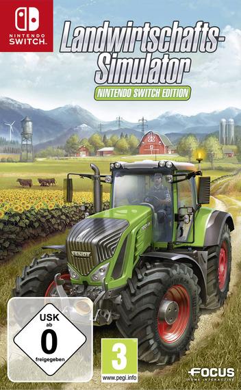 Landwirtschafts-Simulator: Nintendo Switch Edition Switch coverM (AESEA)