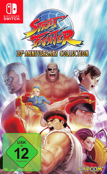 Street Fighter™ 30th Anniversary Collection Switch coverM (AK6JA)