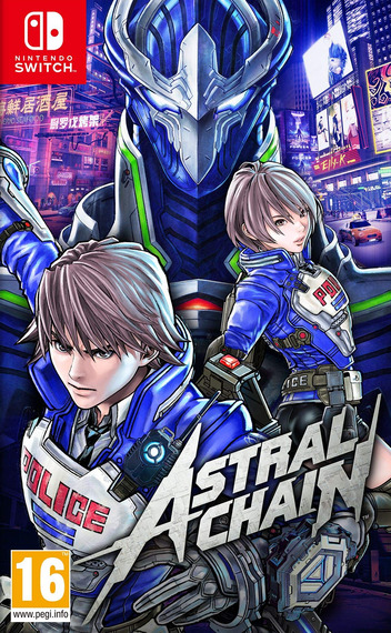 Astral Chain Switch coverM (AB48A)