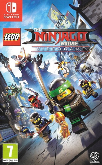 The LEGO NINJAGO Movie Video Game Switch coverM (AB4JB)