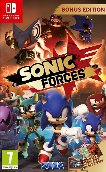 Sonic Forces Switch coverM (ABQLB)