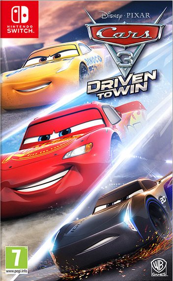 Cars 3: Driven to Win Switch coverM (ABTDB)