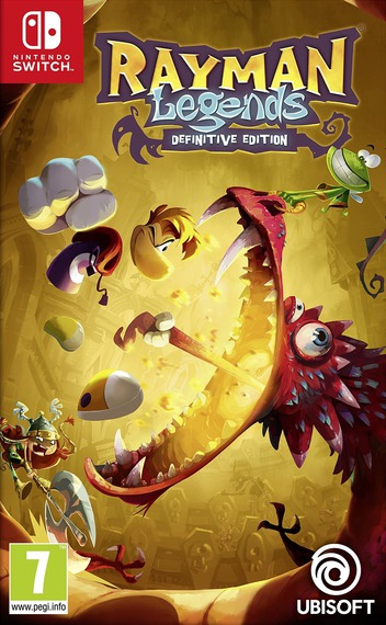 Rayman Legends: Definitive Edition Switch coverM (ACVKA)