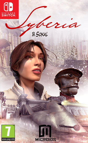 Syberia Switch coverM (AD77A)