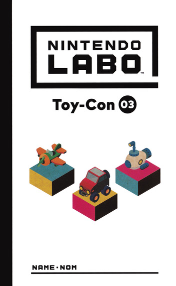 Nintendo Labo - Toy-Con 03: Vehicle Kit Switch coverM (ADFWA)