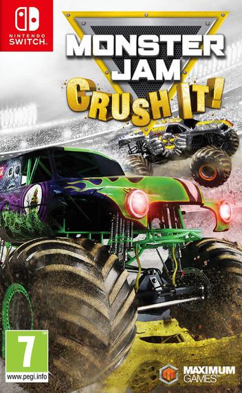 Monster Jam - Crush It! Switch coverM (ADK7B)