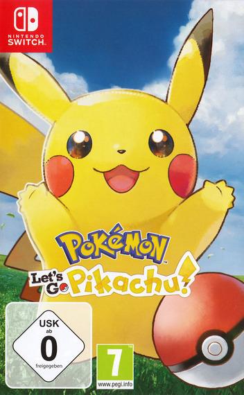 Pokémon:Let's Go, Pikachu Switch coverM (ADW2A)