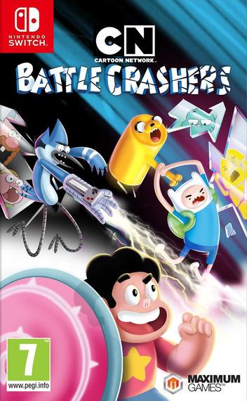 Cartoon Network - Battle Crashers Switch coverM (ADWTB)