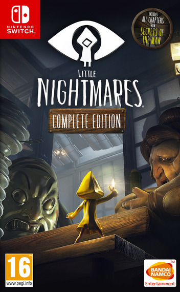 Little Nightmares: Complete Edition Switch coverM (AEB8A)