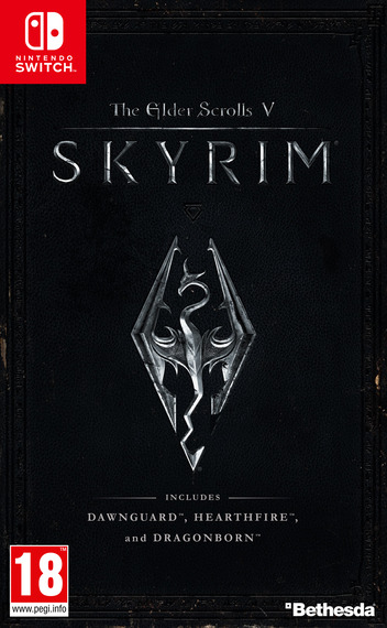 The Elder Scrolls V: Skyrim Switch coverM (AF3CA)