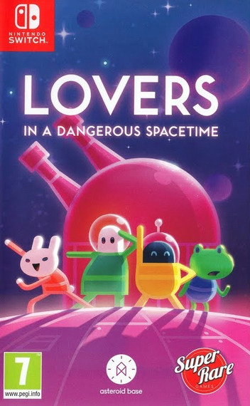 Lovers in a Dangerous Spacetime Switch coverM (AF3MA)