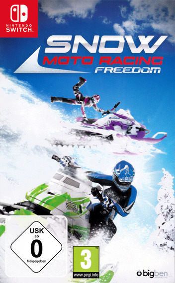 Snow Moto Racing Freedom Switch coverM (AFVWA)