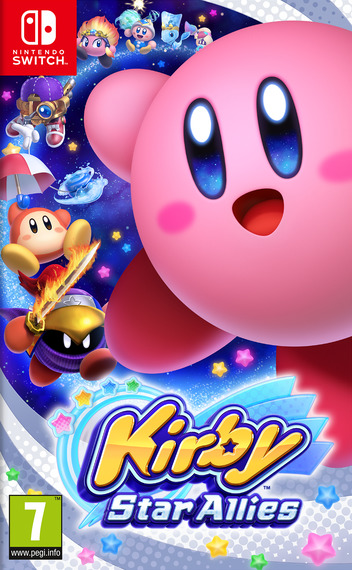 Kirby Star Allies Switch coverM (AH26A)