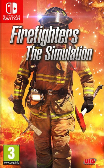 Firefighters - The Simulation Switch coverM (AHXCA)