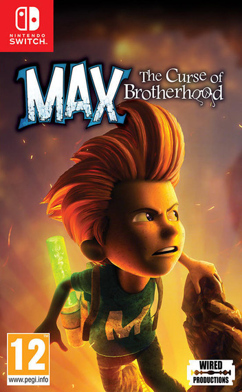 Max - The Curse of Brotherhood Switch coverM (AJ29C)