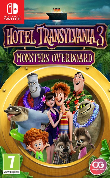 Hotel Transylvania 3 - Monsters Overboard Switch coverM (AJ7TA)