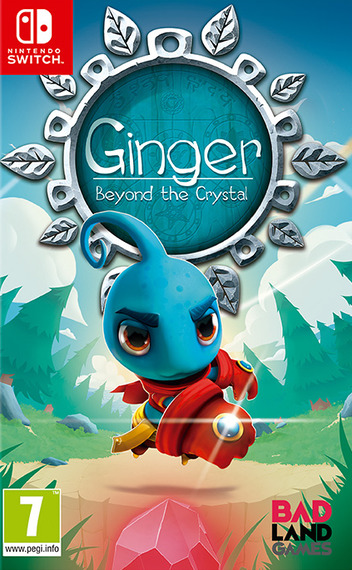 Ginger: Beyond the Crystal Switch coverM (AJAGA)