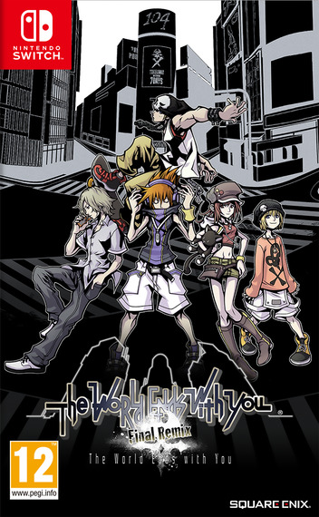 The World Ends With You -Final Remix- Switch coverM (AM78B)