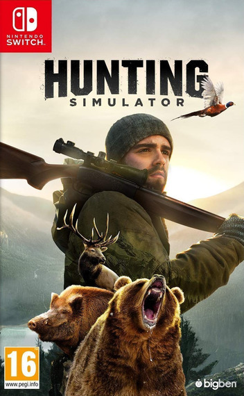 Hunting Simulator Switch coverM (AMM5A)