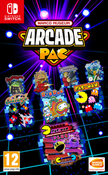 Namco Museum Arcade Pac Switch coverM (AP3MA)