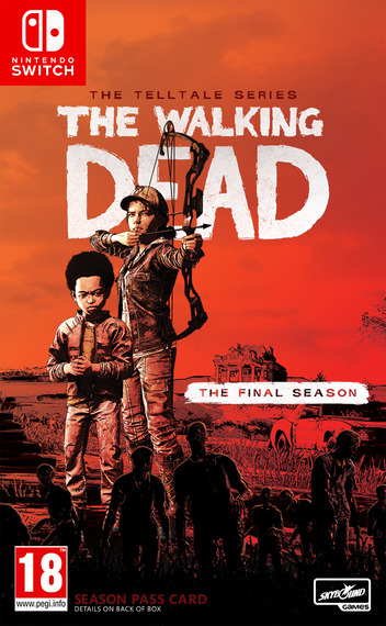 The Walking Dead - The Final Season Switch coverM (APV9A)