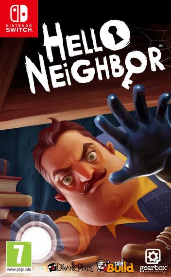 Hello Neighbor Switch coverM (AQA6A)