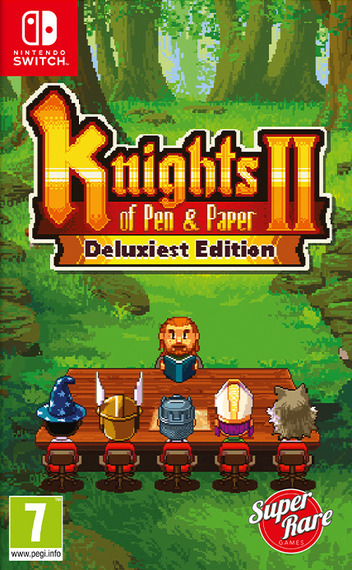 Knights of Pen & Paper 2 - Deluxiest Edition Switch coverM (AQCQA)
