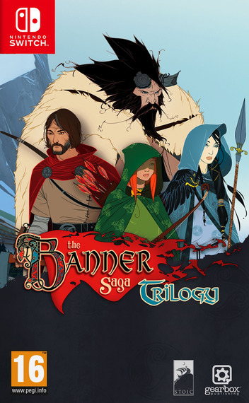 The Banner Saga Trilogy Switch coverM (AQZPA)