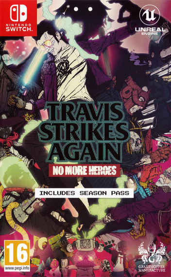 Travis Strikes Again - No More Heroes Switch coverM (AR9RA)