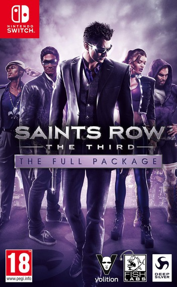 Saints Row: The Third - The Full Package Switch coverM (ARGWA)
