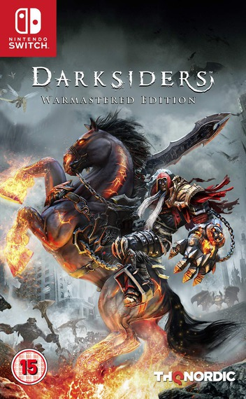 Darksiders - Warmastered Edition Switch coverM (ASFSA)