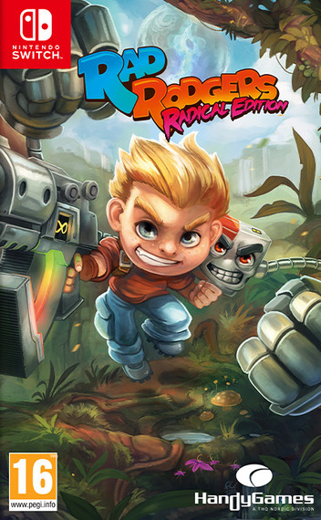 Rad Rodgers Radical Edition Switch coverM (ASK3A)