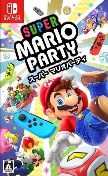 スーパー マリオパーティ Switch coverM (ADFJA)
