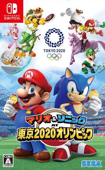 マリオ&ソニック AT 東京2020オリンピック Switch coverM (ARQPA)
