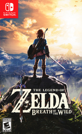 The Legend of Zelda: Breath of the Wild Switch coverM (AAAAA)