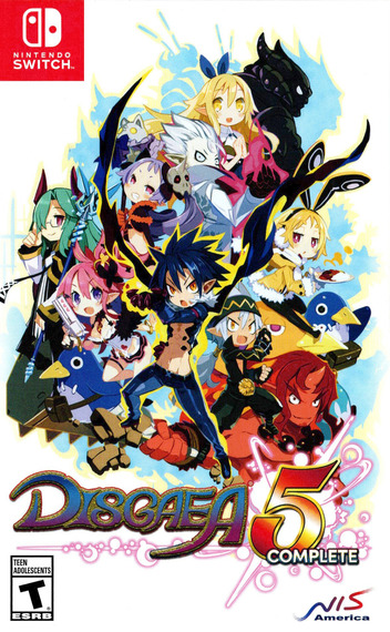 Disgaea 5 Complete Switch coverM (AACAC)